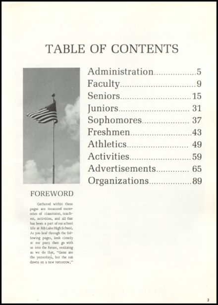 1969 Rib Lake High School Yearbook Page 7