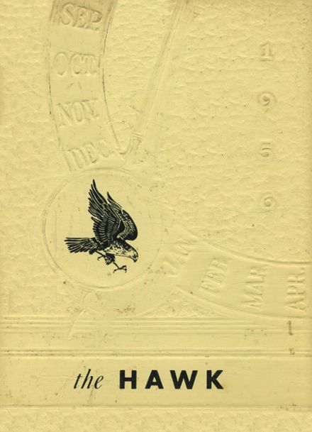 1956 Climbing Hill High School Yearbook Cover