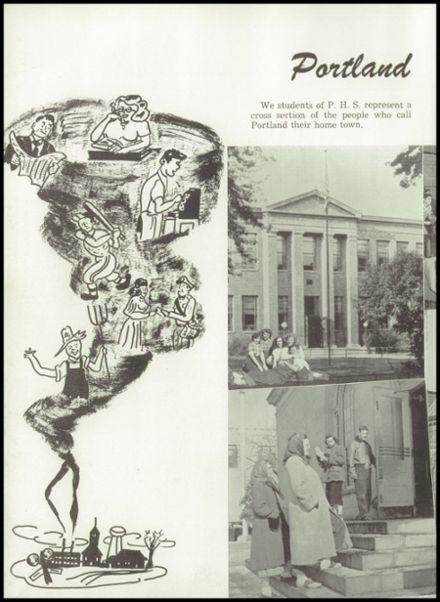 1951 Portland High School Yearbook Page 6