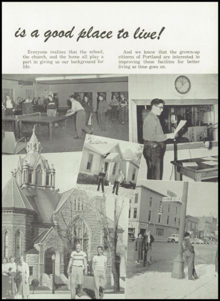 1951 Portland High School Yearbook Page 7