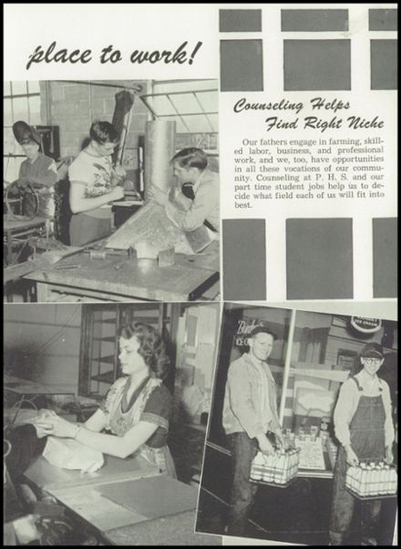 1951 Portland High School Yearbook Page 9