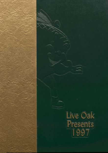 1997 Live Oak High School Yearbook Cover
