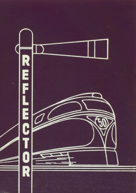 1950 Three Rivers High School Yearbook Cover