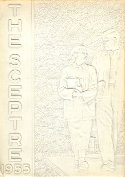 1955 Morningside High School Yearbook Cover