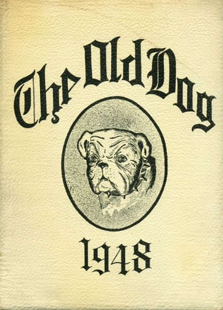 1948 Morgan School for Boys Yearbook Cover