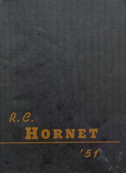1951 Richland Center High School Yearbook Page 1