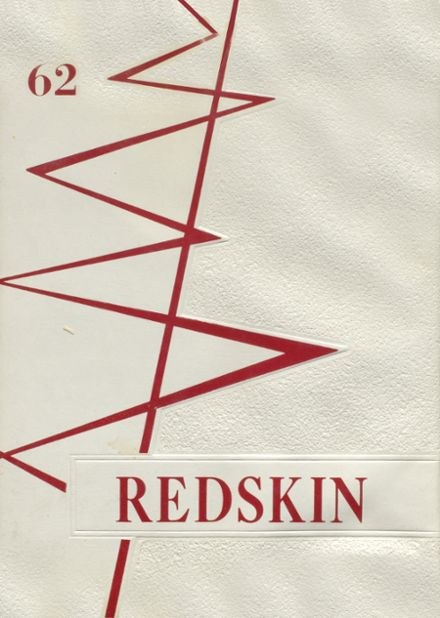 1962 Union High School Yearbook Cover