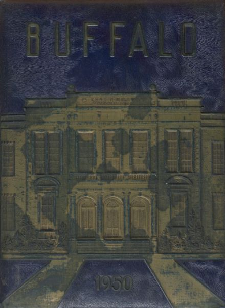 1950 Milby High School Yearbook Cover