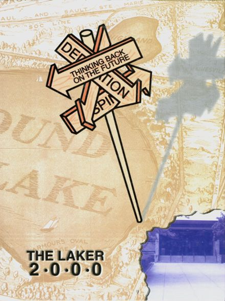 2000 Round Lake High School Yearbook Cover