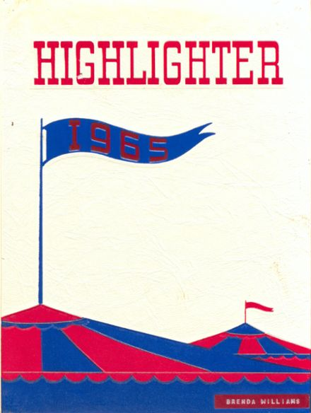 1965 Monroe High School Yearbook Cover