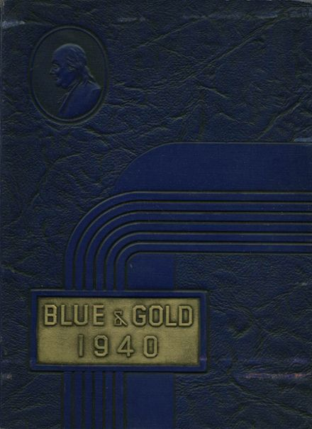 1940 Middletown Area High School Yearbook Cover