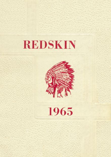 1965 Union High School Yearbook Cover