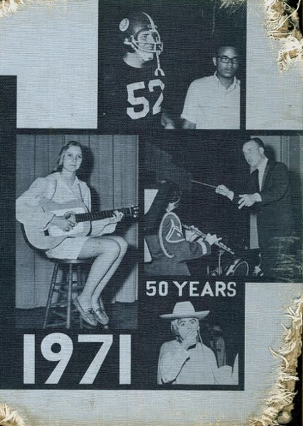 1971 Allegany High School Yearbook Cover