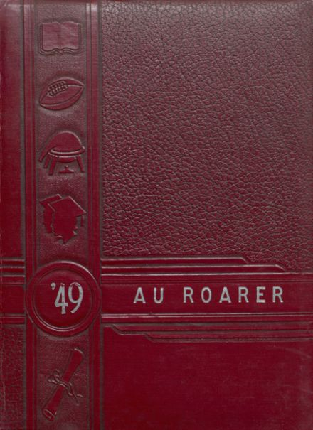 1949 Plain Dealing High School Yearbook Cover
