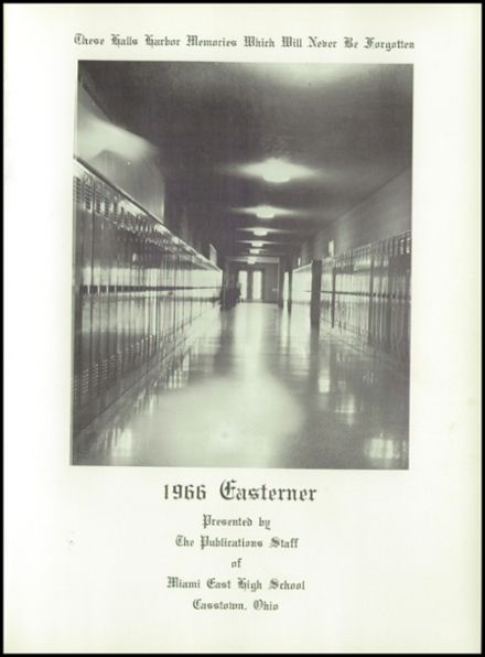 1966 Miami East High School Yearbook Page 5