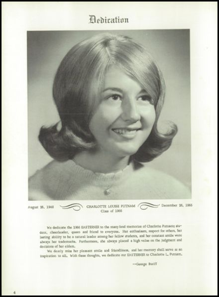 1966 Miami East High School Yearbook Page 8