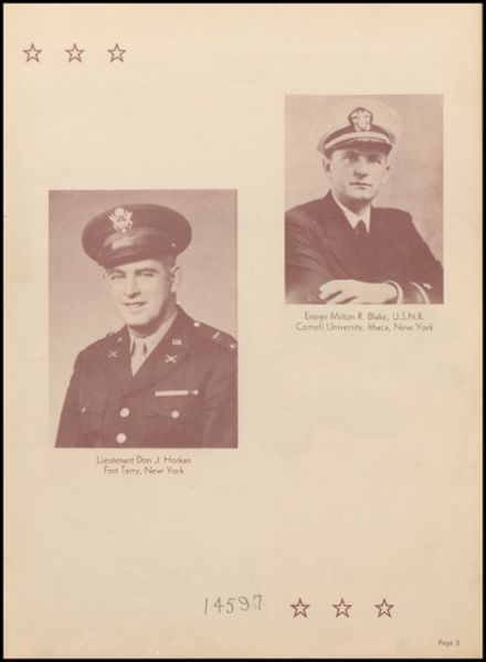 1944 Reedsburg High School Yearbook Page 7