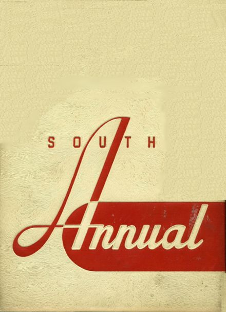 1951 South High School Yearbook Cover