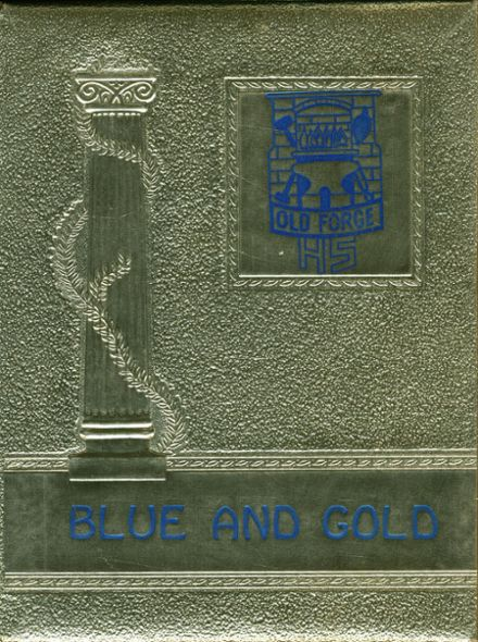 1966 Old Forge High School Yearbook Cover