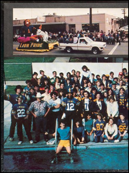 1984 Linden High School Yearbook Page 2