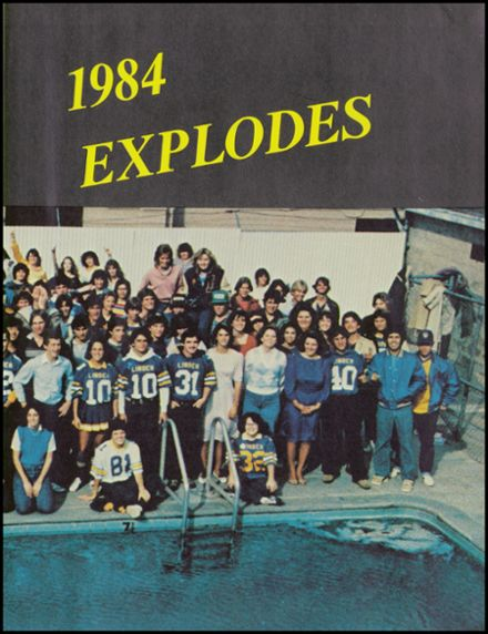 1984 Linden High School Yearbook Page 3