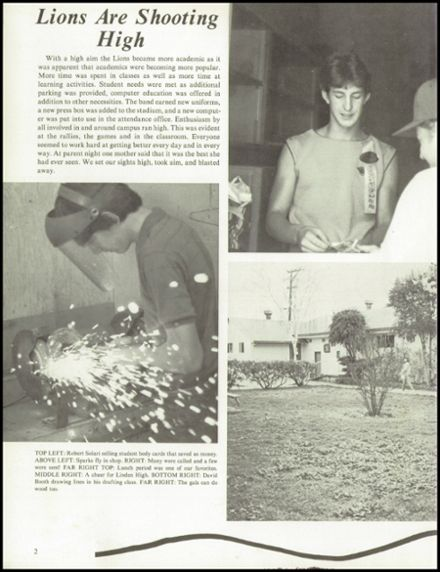1984 Linden High School Yearbook Page 6