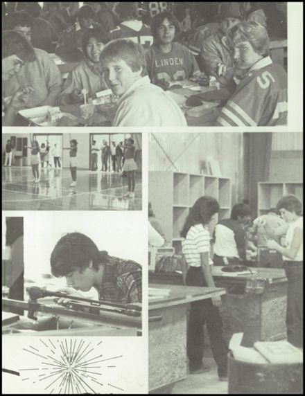 1984 Linden High School Yearbook Page 7