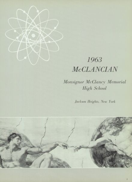 1963 Monsignor McClancy High School Yearbook Page 5