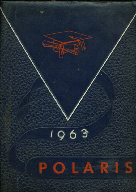 1963 North High School Yearbook Cover