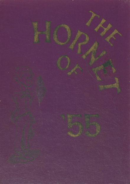 1955 Harvey High School Yearbook Cover