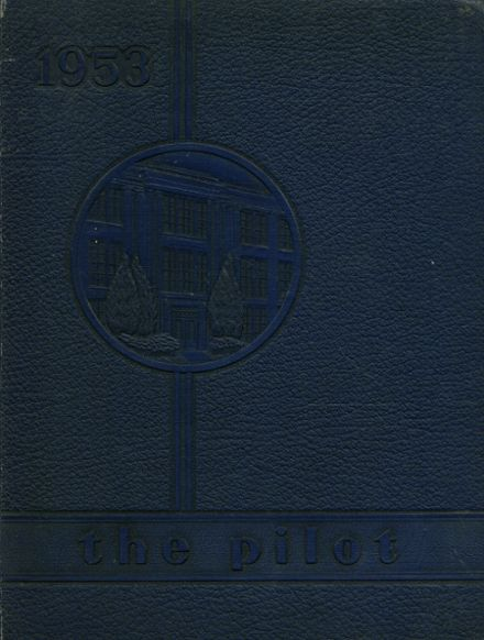 1953 Norview High School Yearbook Cover