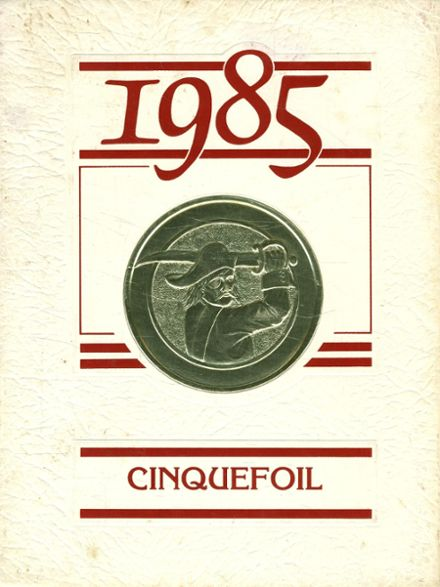 1985 Hampshire Regional High School Yearbook Cover