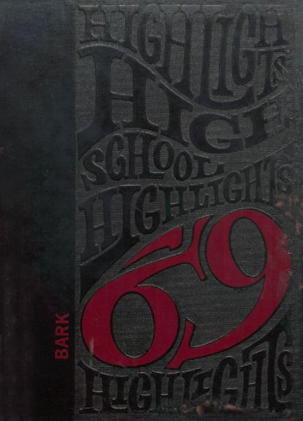1969 Le Mars Community High School Yearbook Cover