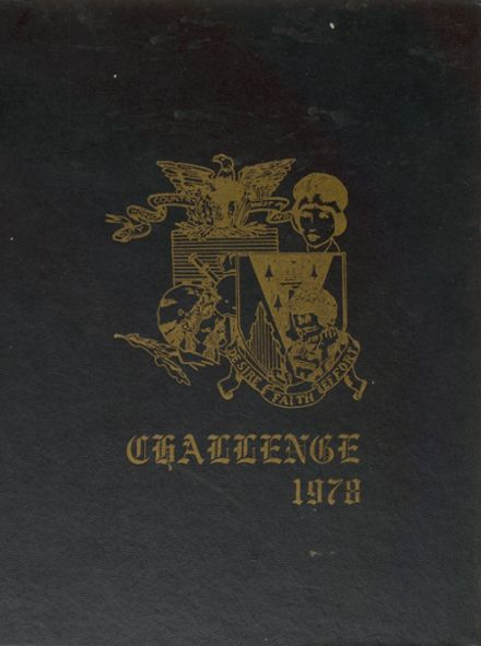 1978 United States Military Preparatory School Yearbook Cover