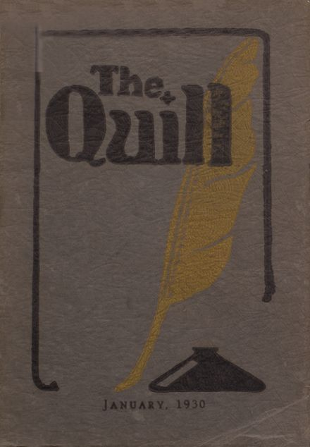 1930 East High School Yearbook Cover
