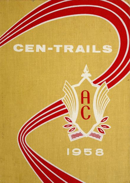 1958 Adams Central High School Yearbook Cover