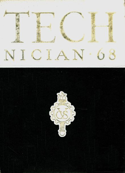 1968 Chicago Vocational Yearbook Cover