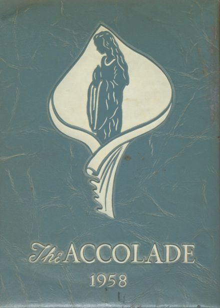 1958 Altoona Central Catholic School Yearbook Cover