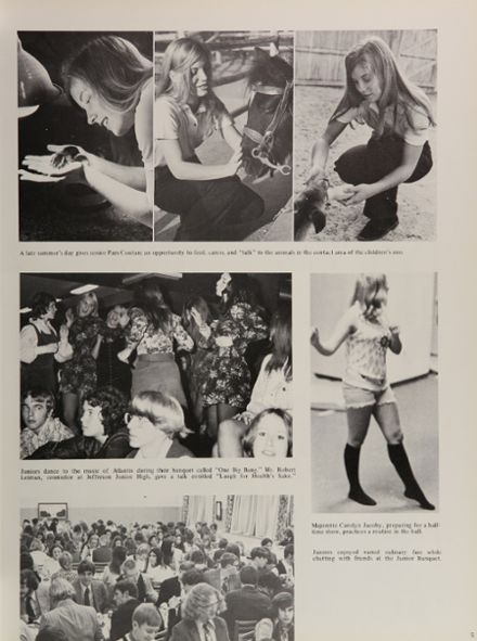 1972 South Side High School Yearbook Page 9