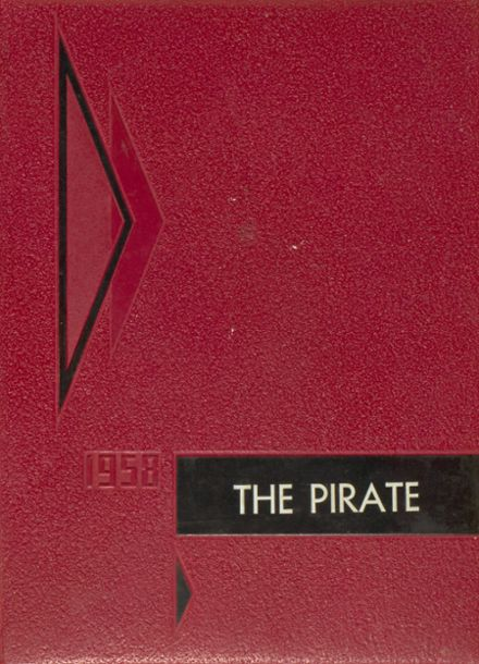 1958 Concord High School Yearbook Cover