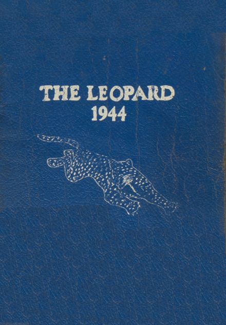 1944 Lincoln High School Yearbook Cover