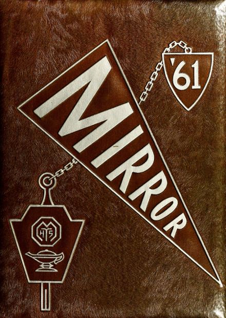 1961 Manual High School Yearbook Cover
