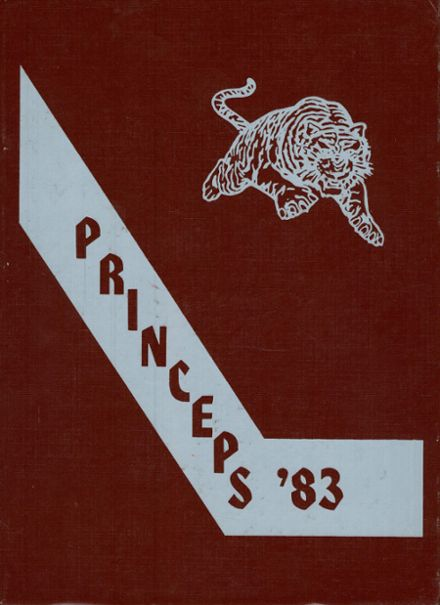 1983 Princeton High School Yearbook Cover