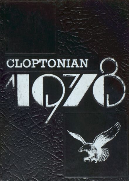 1978 Clopton High School Yearbook Cover