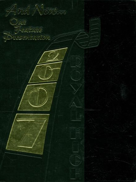 2007 Royal High School Yearbook Cover