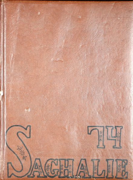 1974 Shelton High School Yearbook Cover