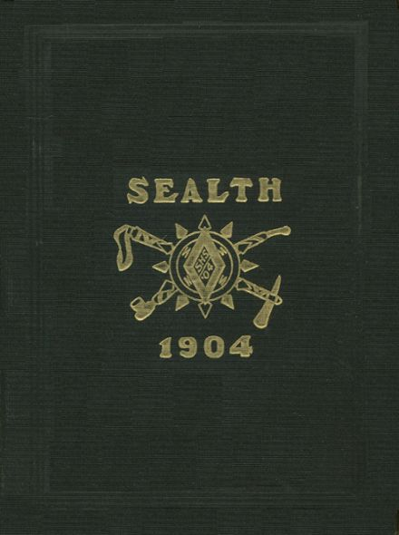 1904 Chief Sealth High School Yearbook Cover