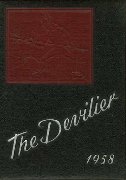 1958 Liberty High School Yearbook Cover