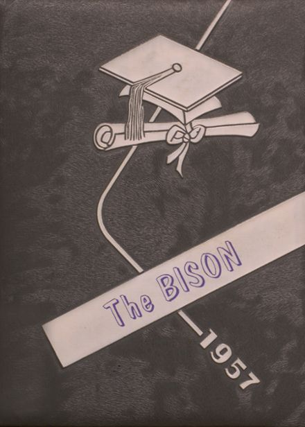 1957 Cross Plains High School Yearbook Cover
