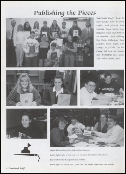 1996 Richland Center High School Yearbook Page 8